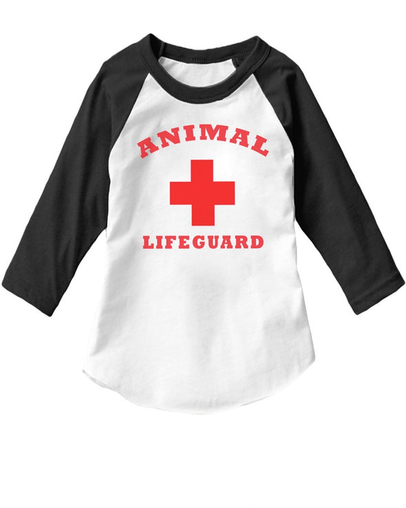 Toddler | Animal Lifeguard | Raglan