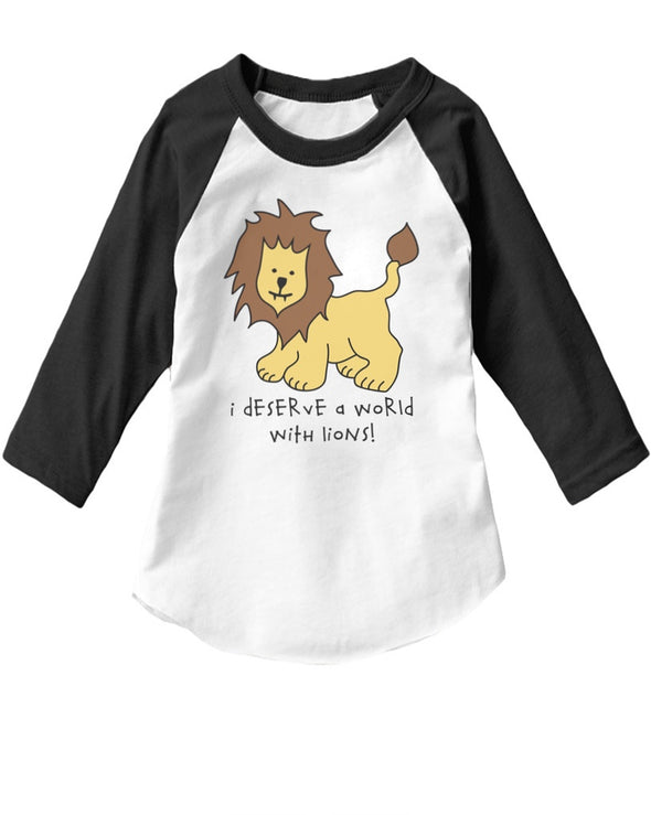 Toddler | Lions | Raglan