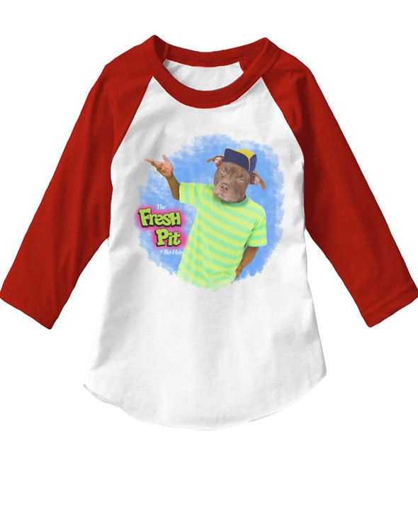 Toddler | The Fresh Pitt | Raglan