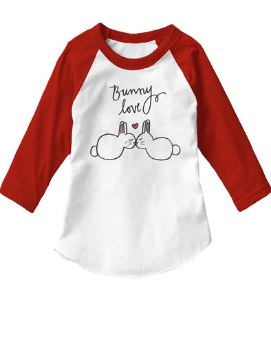 Toddler | Kids Love Bunny | Raglan