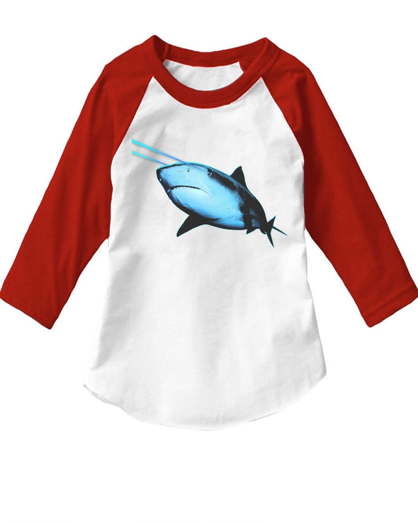 Toddler | Laser Eye Shark | Raglan