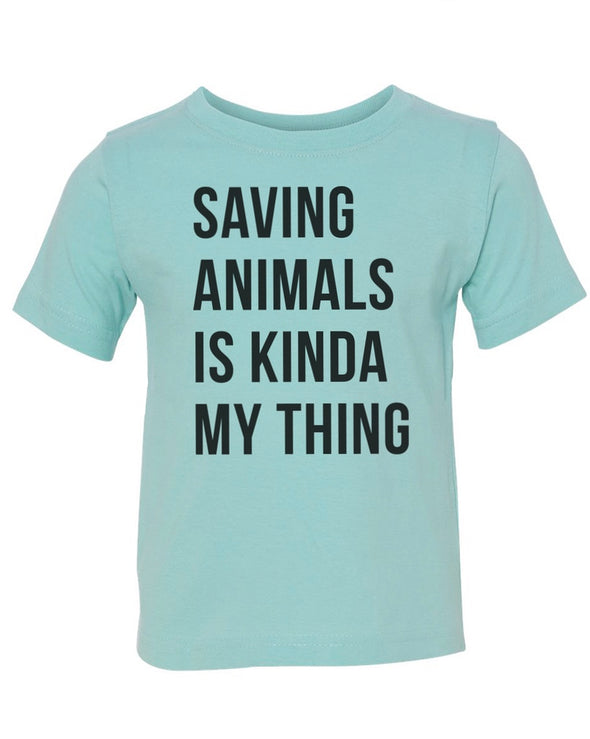 Toddler | Saving Animals | Tee