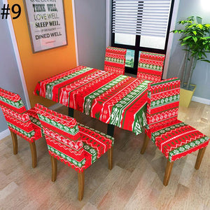 2019 New Christmas Chair Cover-Buy 6 Free Shipping