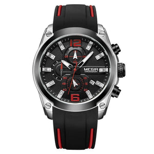 (Last Day Promotion)Men's Chronograph Analog Quartz Watch Wristswatch