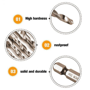50% OFF Today (Last day promotion)- Composite Tap Drill Bit Set