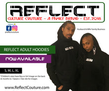 Load image into Gallery viewer, REFLECT BLACK Thick Hoodie [Adult/Teen]