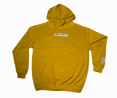 REFLECT MUSTARD Thick Hoodie [Adult/Teen]