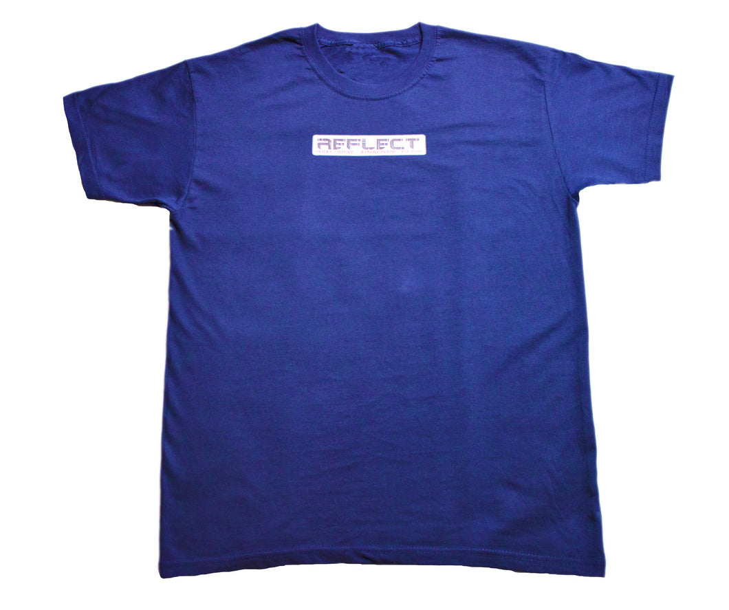 REFLECT Mens Short Sleeve T-Shirt [NAVY]