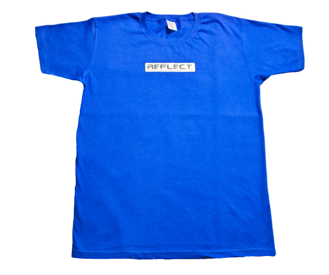 REFLECT Mens Short Sleeve T-Shirt [ROYAL BLUE]