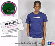 Load image into Gallery viewer, REFLECT Mens Short Sleeve T-Shirt [NAVY]