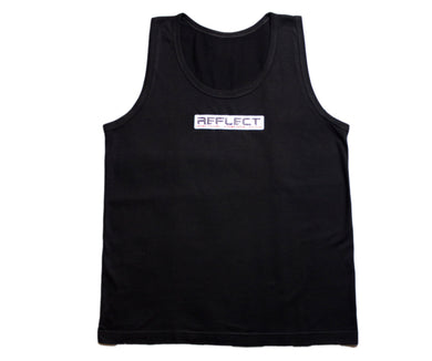 REFLECT Men's Tank Top [BLACK]