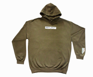 REFLECT OLIVE Thick Hoodie [Adult/Teen]
