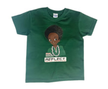Load image into Gallery viewer, REFLECT Premium Boys GREEN Short-Sleeve T-Shirt