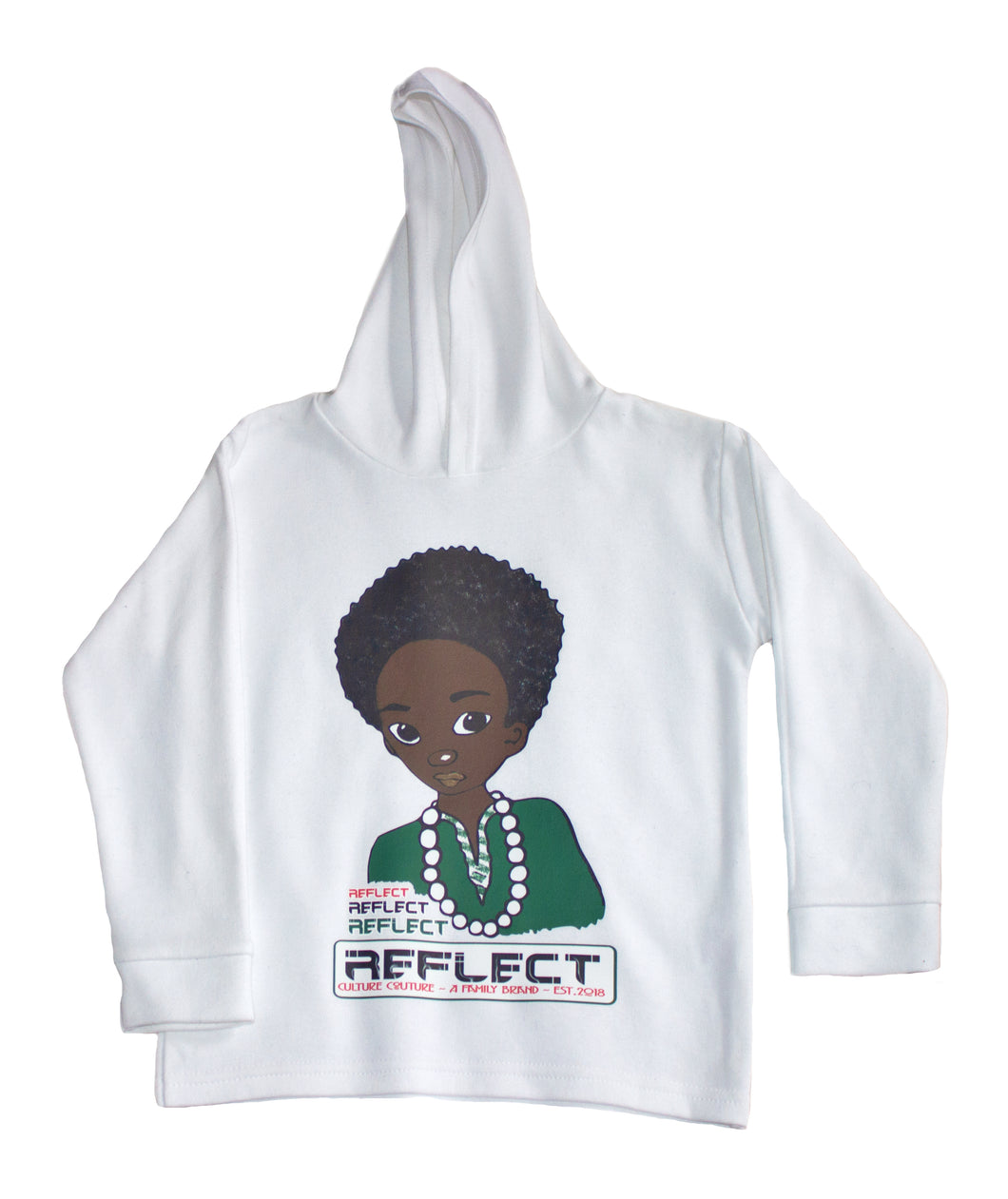 REFLECT Premium Boys Hoodie [White]