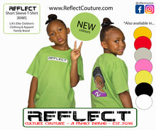 Load image into Gallery viewer, REFLECT Premium Girls LIME Short-Sleeve T-Shirt [NEW DESIGN]