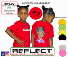 Load image into Gallery viewer, REFLECT Premium Girls RED Short-Sleeve T-Shirt [NEW DESIGN]