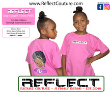 Load image into Gallery viewer, REFLECT Premium Girls PINK Short-Sleeve T-Shirt [NEW DESIGN]