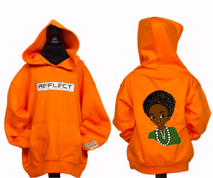 REFLECT Thick Hoodie Boys [ORANGE]