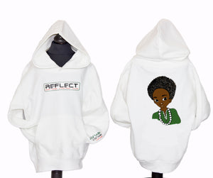 REFLECT Thick Hoodie Boys [WHITE]