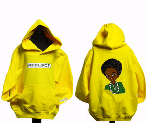 REFLECT Thick Hoodie Boys [YELLOW]