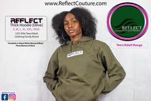 Load image into Gallery viewer, REFLECT OLIVE Thick Hoodie [Adult/Teen]