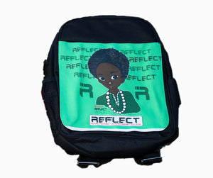 REFLECT Girls CERISE Back-to-School Bag/Rucksack [NEW]