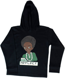 REFLECT Premium Boys BLACK Hoodie