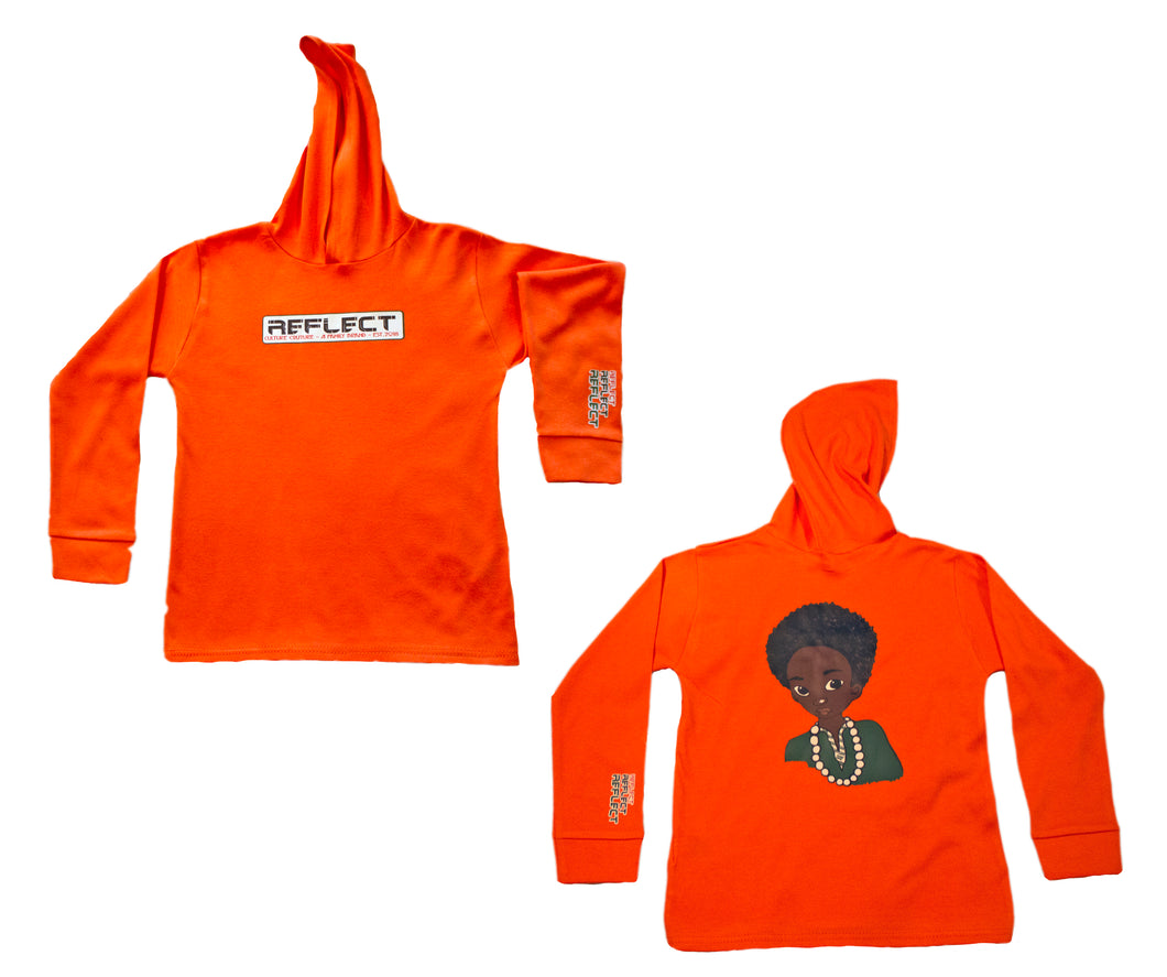REFLECT Premium Boys ORANGE Hoodie [LIMITED EDITION]