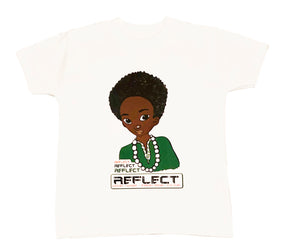 REFLECT Premium Boys WHITE Short-Sleeve T-Shirt
