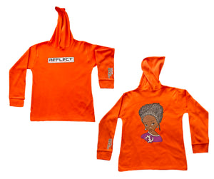 REFLECT Premium Girls ORANGE Hoodie [LIMITED EDITION]
