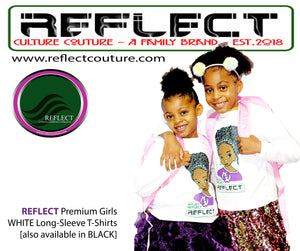 REFLECT Premium Girls WHITE Long-Sleeve T-Shirt
