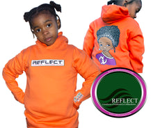 Load image into Gallery viewer, REFLECT Premium Girls ORANGE Hoodie [LIMITED EDITION]