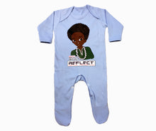 Load image into Gallery viewer, REFLECT Premium Boys BABY BLUE Rompersuit