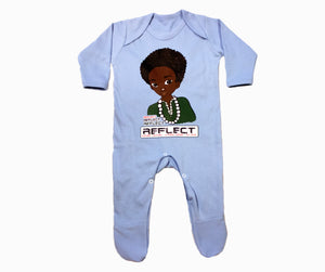 REFLECT Premium Boys BABY BLUE Rompersuit