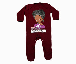 REFLECT Premium Girls MAROON Rompersuit