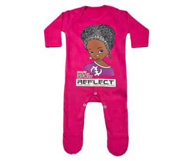 REFECT Premium Girls CERISE Rompersuit
