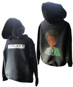 REFLECT Thick Boys BLACK Hoodie