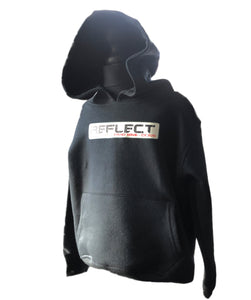 REFLECT Thick Girls Black Hoodie