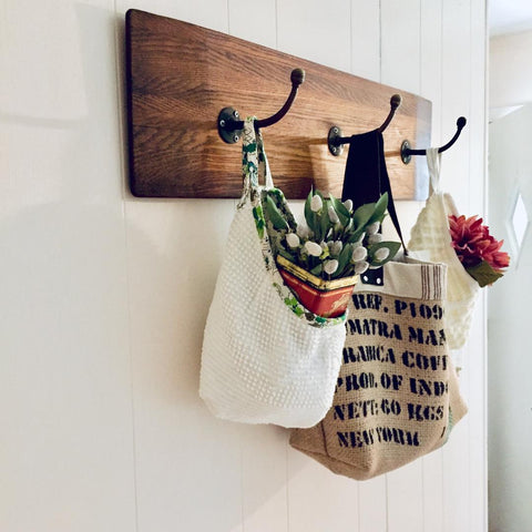 Vintage Fabric Hanging Pods