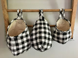 Buffalo Check Hanging Storage Pods
