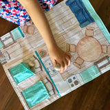 Dollhouse Fabric Play Mat