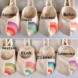 Rainbow Hanging Storage Pods
