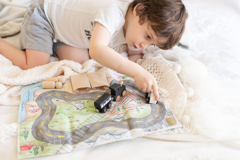 On the Road Car Play Mat