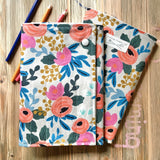 Coral Rose Drawing Packet