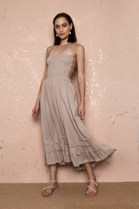 Annette Beige Dress