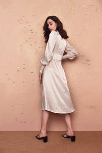 Aphrodite Cream Dress