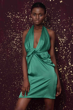 Load image into Gallery viewer, Babes Green Dress