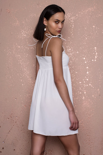 Diana White Dress