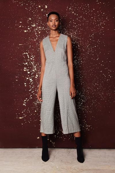 Elle Brown Jumpsuit
