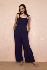 Emily Blue Jumpsuit